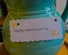 Slightly Sweet Iced Green Tea