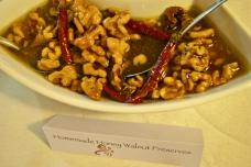 Homemde Honey and Walnut Preserves