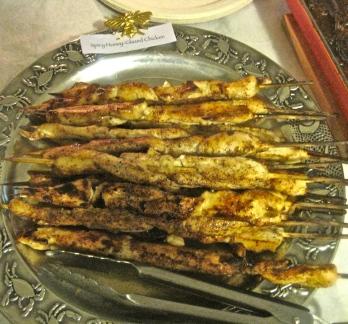 Honey Glazed Spicy Chicken Skewers