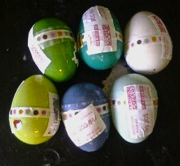 mailing Easter eggs