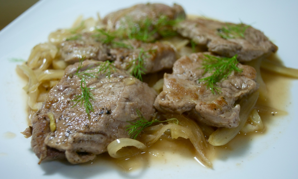 Nordic Pork Tenderloin with Fennel & Elderflower Cordial
