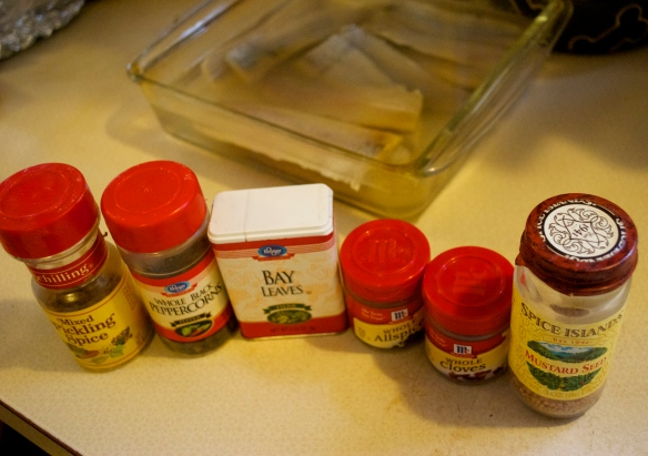 Spices for Pickled Herring