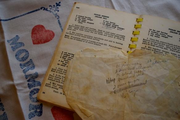 Recipe for Pickled Herring