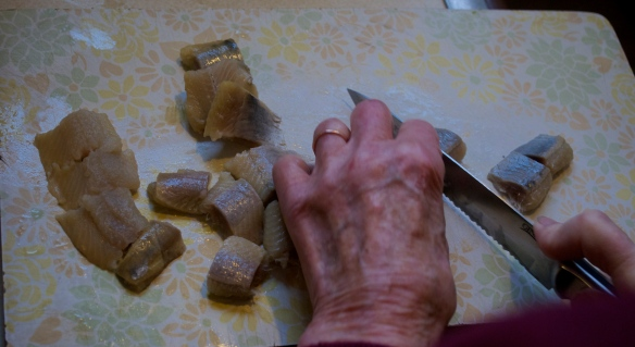 Cutting the Herring for Pickling