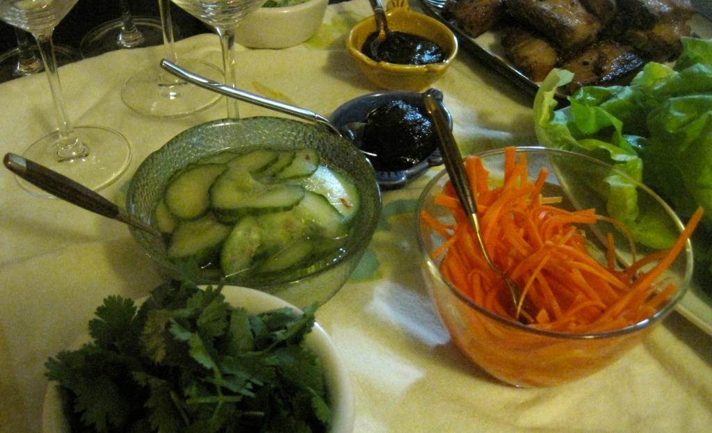 Pickled Veggies for Steamed Buns
