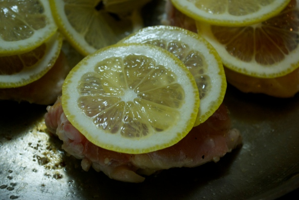 Chicken with Lemon and Oregano