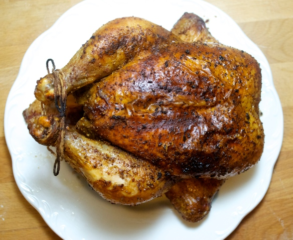 Brinedand Roasted Chicken w/ Agrodolce