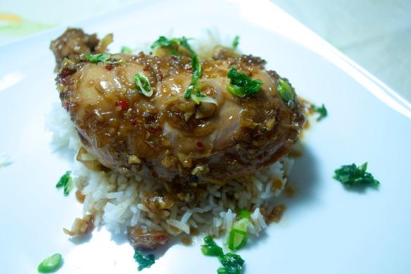 Caramelized Ginger Chicken