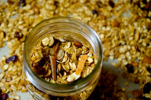 Was it Worth it: Can candied orange peel brighten up granola?