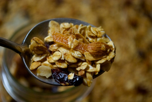 Cranberry and Candied Orange Granola