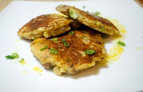 Corn & Sausage Griddle Cakes