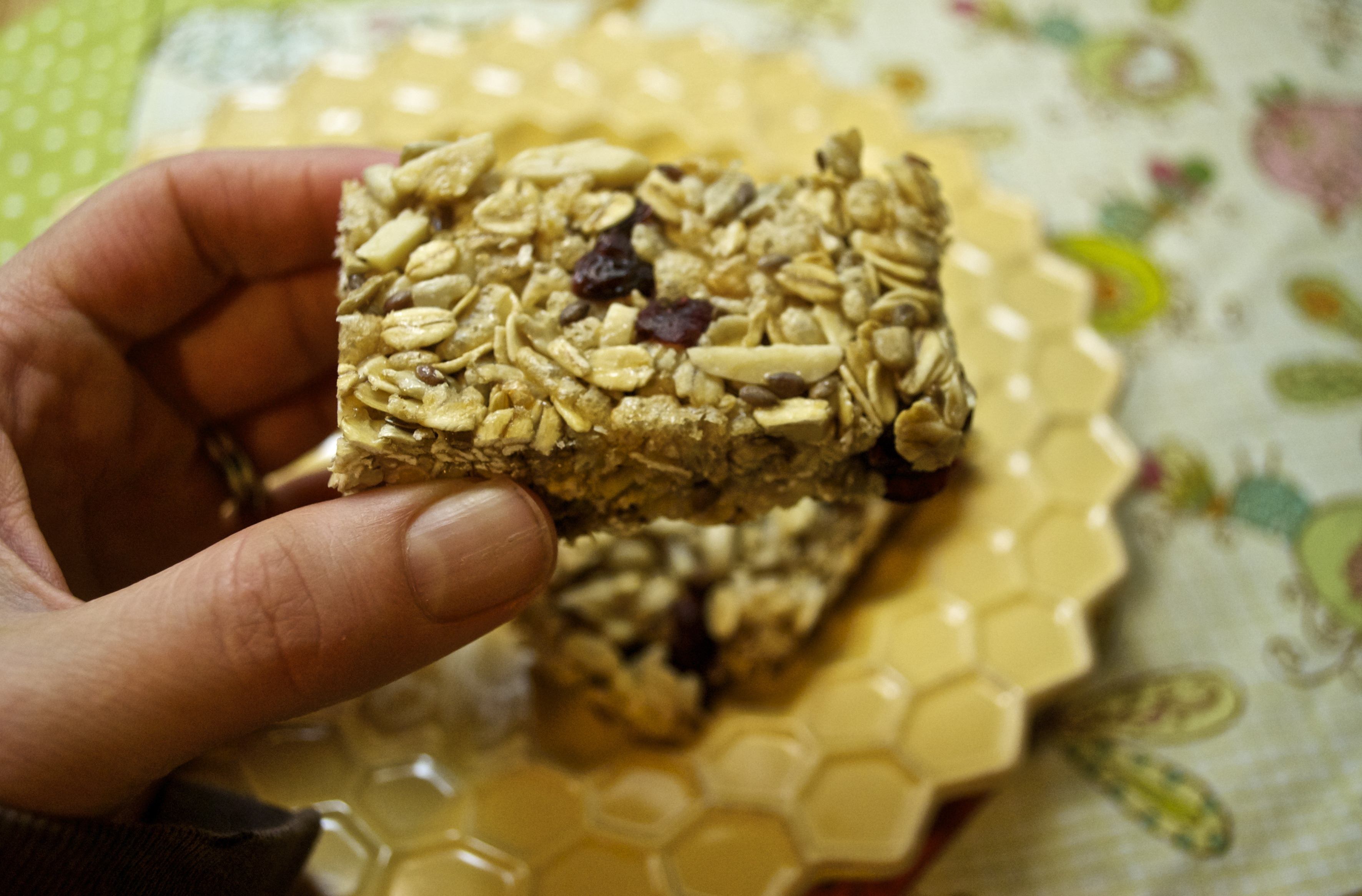 ... crunch: tinkering with homemade granola bars | Attempts in Domesticity