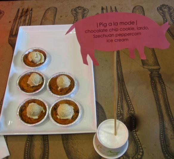 Porky Ice Cream with Peppercorns and Lardo