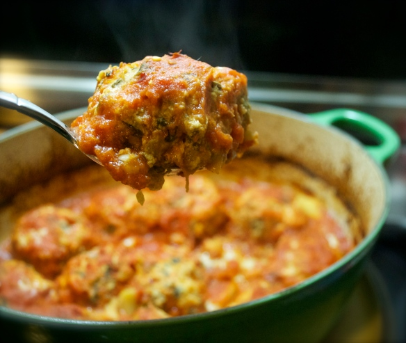 Hot Steaming Meatballs