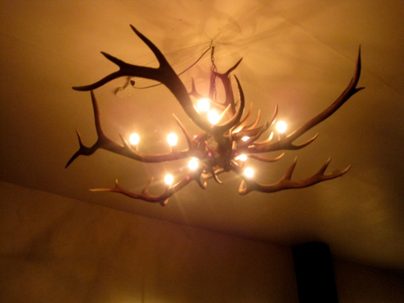 Antler Chandelier, Kingdom of Roosevelt