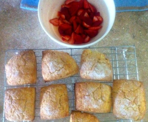 Martha Stewart's Strawberry Shortcakes