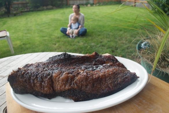 Applewood Smoked Beef Brisket