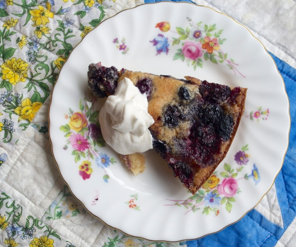 Brown Butter and Berry Tart