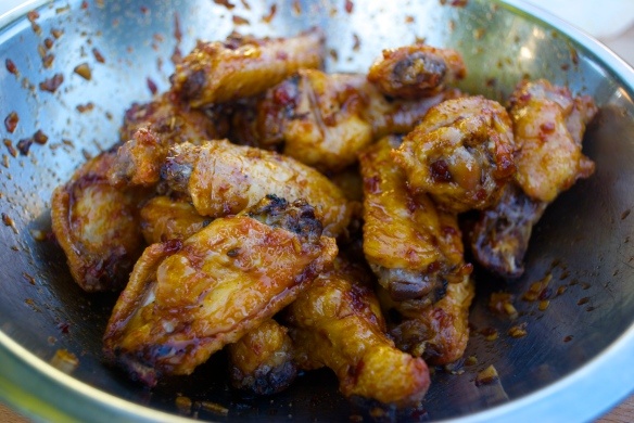 Triple Threat Chicken Wings
