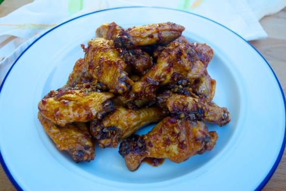 Triple Threat Chicken Wings
