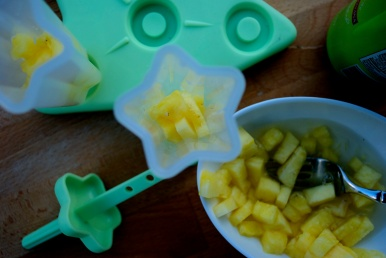 Pineapple & Coconut Adult Popsicles