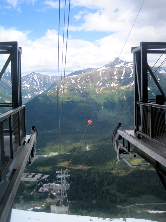 From the top of the Alyeska Tram