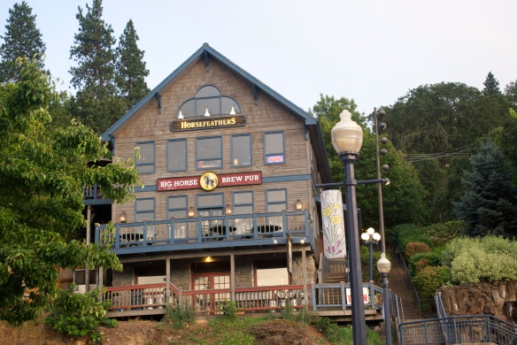 Big Horse Brew Pub in Hood River, OR