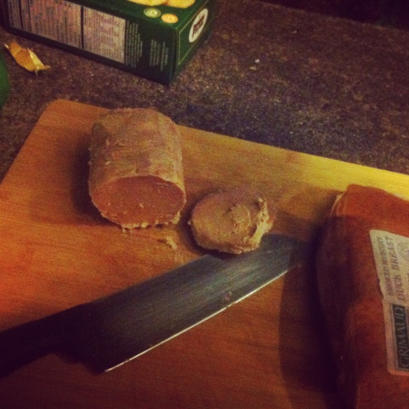 8 oz of scrumptious Hudson Valley foie gras torchon
