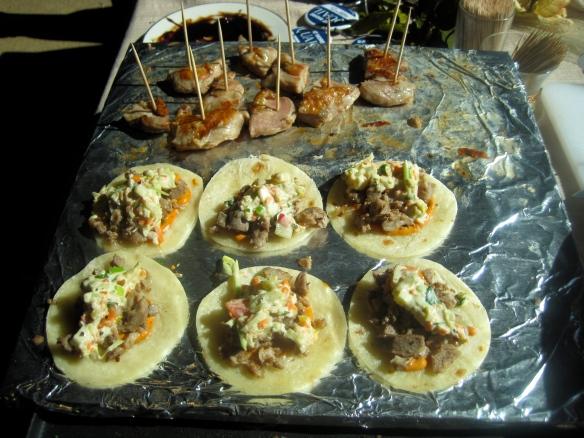 Quail Tacos with Chipotle Aioli