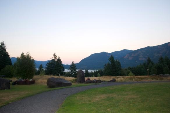 Sunset at Skamania Lodge