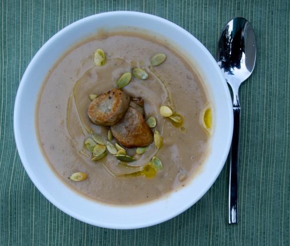 Roasted Sunchoke Soup