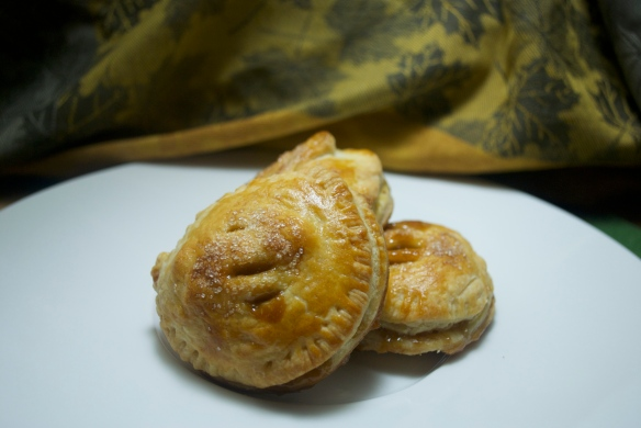 Salted Caramel Apple Hand Pie