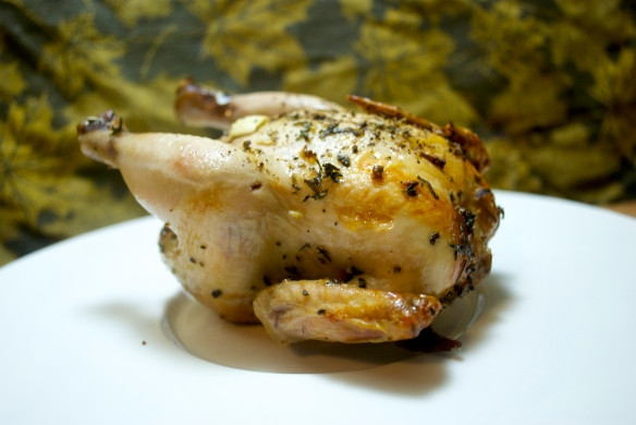 Herb & Garlic Poussin