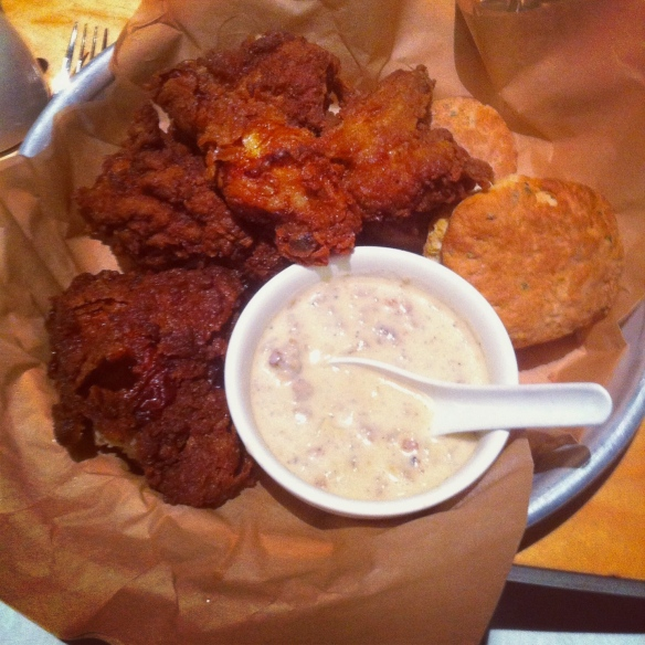 Fried chicken, biscuits and endless mimosas at Ma'ono