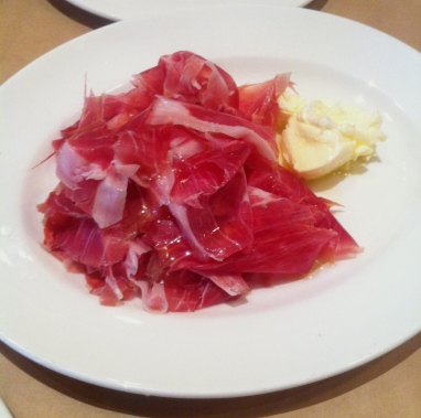 Iberico Jamon with salted housemade butter
