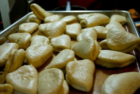 Momofuku steamed buns