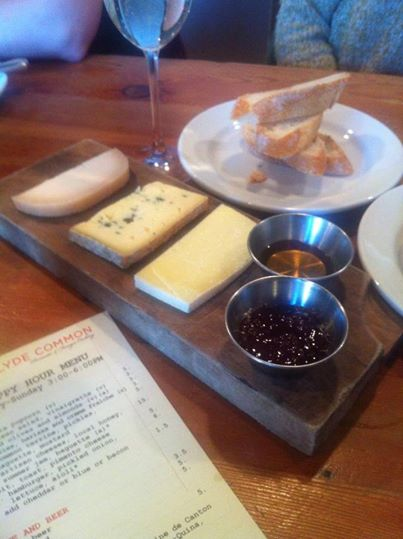 Cheese plate, Clyde Common, PDX