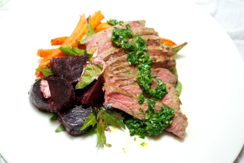 Steak w. Orange Parsley Chimichurri, FLC 2014