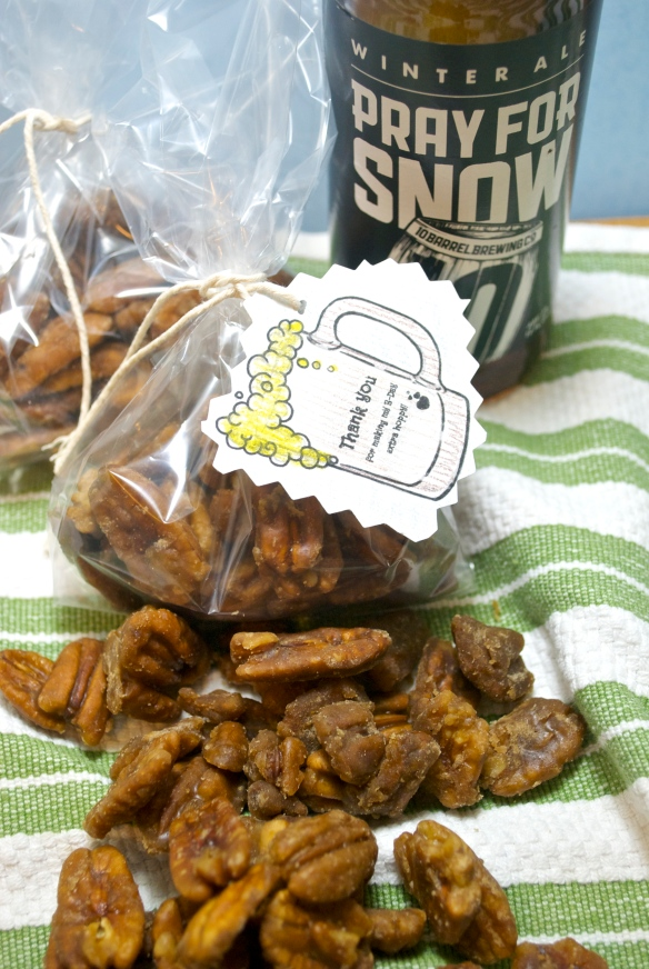 Beer-Candied Pecans