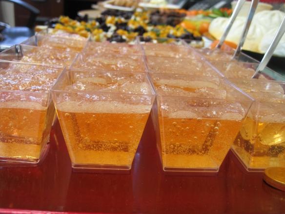 Bellini Jell-O Shots