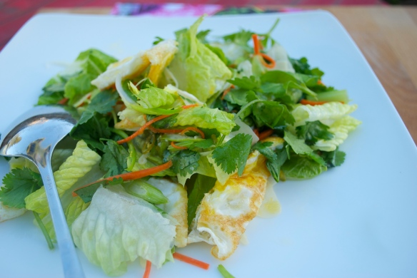 Yam Khai Dao/Fried Egg Salad/Pok Pok