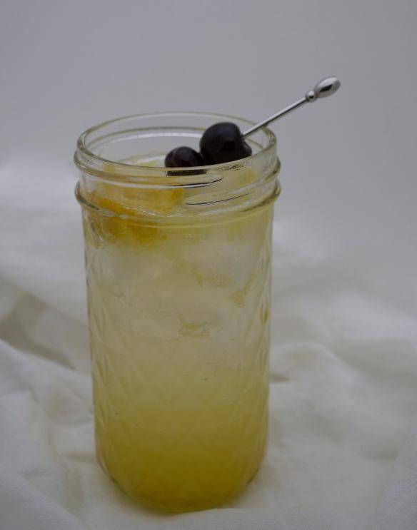 Salted Lime Vodka Collins