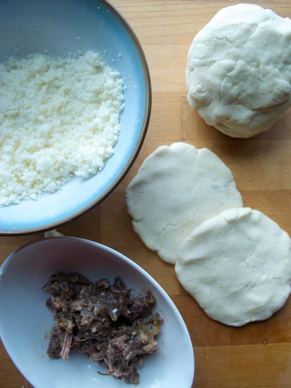 Homemade Pupusas