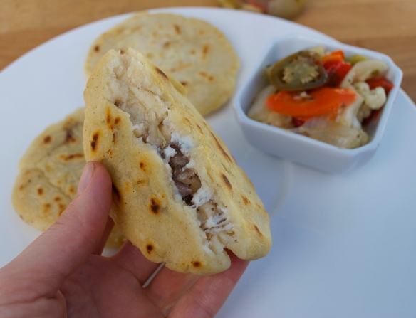 Beef and Cheese Pupusa