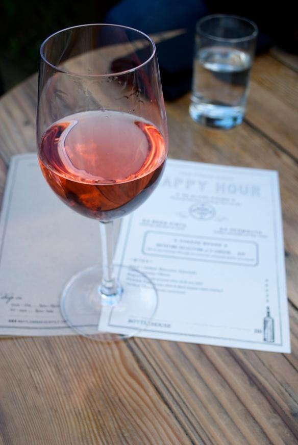 I like pink wine!