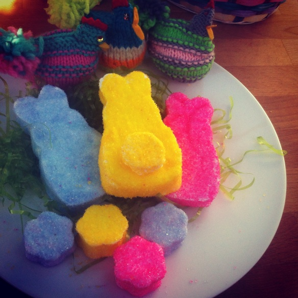Homemade Easter Peeps