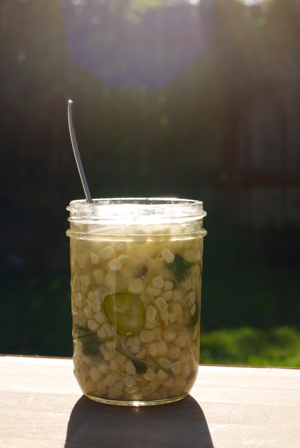 Pickled Corn Relish
