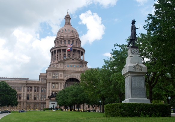 Everything really is bigger here in Texas and the Texas Capitol Building in downtown Austin is no exception!