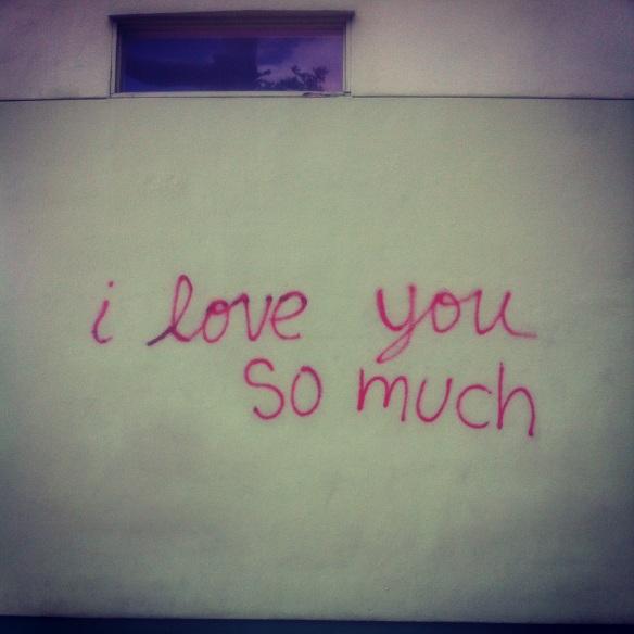 I love you so much wall, Austin, TX