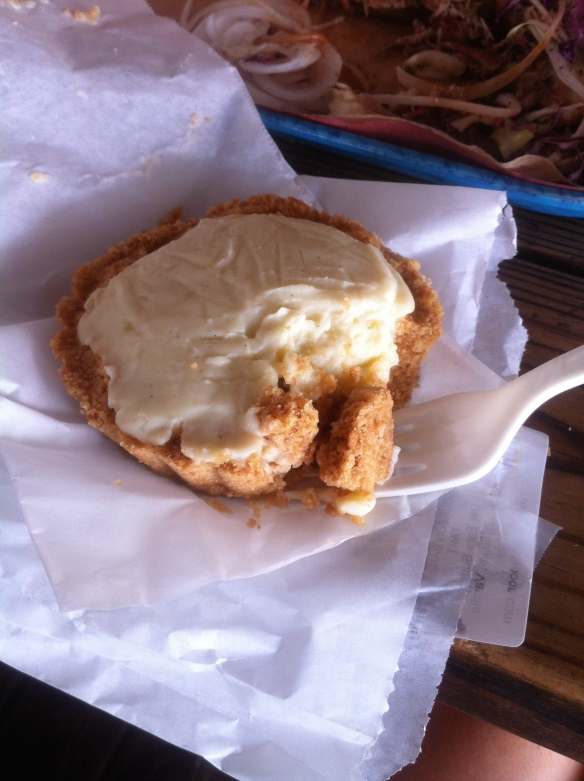 Bourbon Banana Cream Pie (at Franklin's, made by Cake and Spoon)
